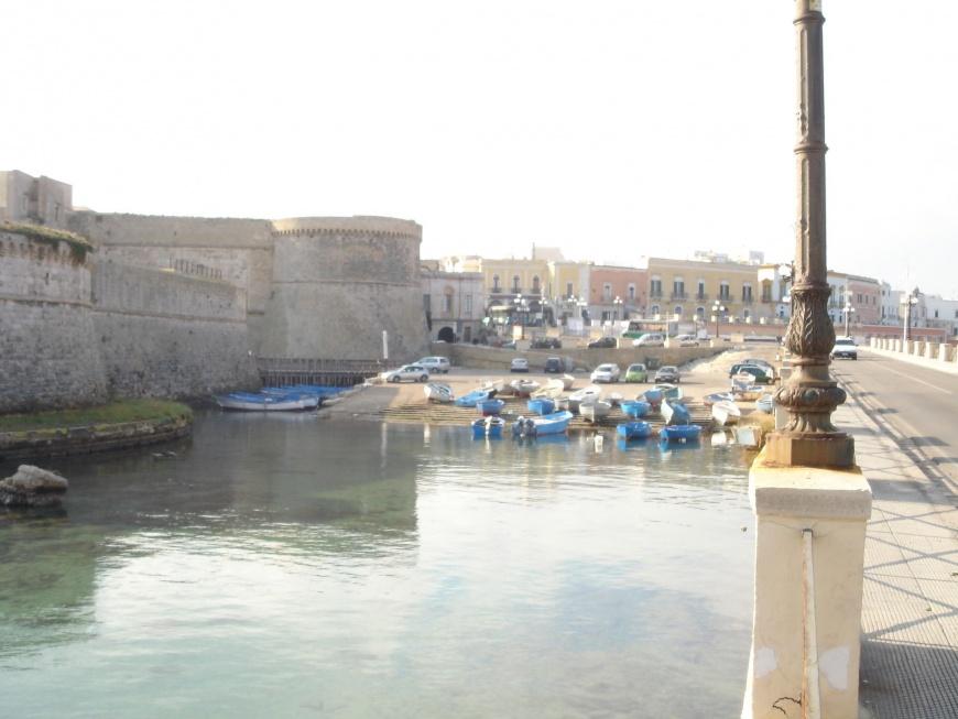 ingresso al Ponte del centro storico di Gallipoli